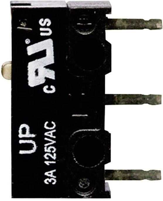 Mikrospínač - tŕň TE Connectivity 1-1825043-3, 125 V/AC, 3 A