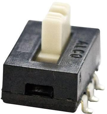 Posuvný přepínač TE Connectivity 1825010-1, 115 V/AC, 0.3 A, 2x zap/zap, 1 ks