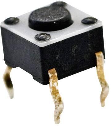 Tlačidlo TE Connectivity 1825910-2, 24 V/DC, 0.05 A, biela, 1 ks