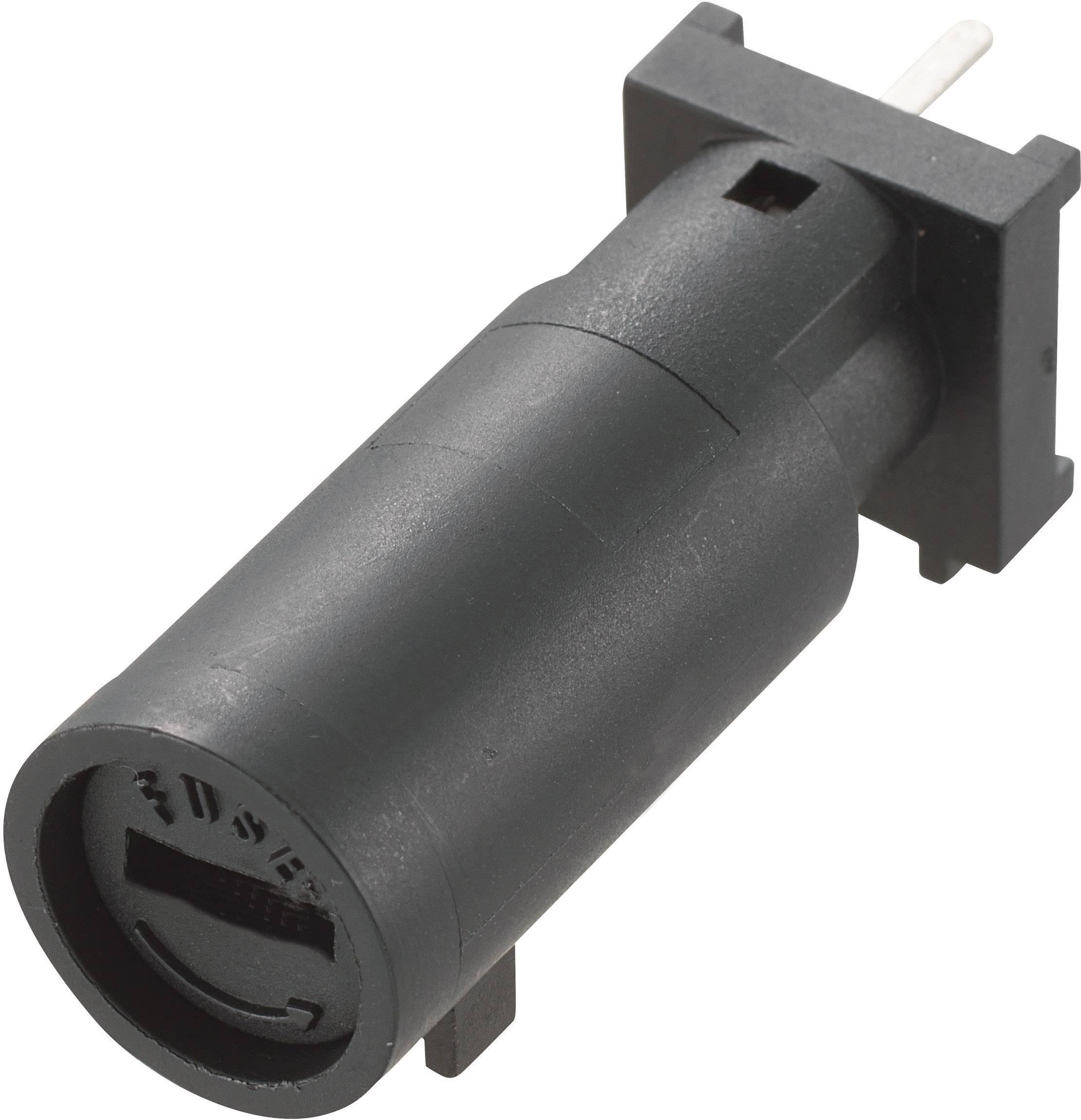 Držiak poistky TRU COMPONENTS MF-561 701752, Vhodné pre poistky 5 x 20 mm, 10 A, 250 V/AC, 1 ks