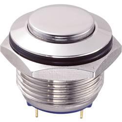 Tlačítko GQ16H-10/J/N (SH1151), 16 mm, 48 V/DC, 2 A, pájené, 1x vyp/(zap)