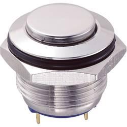 Tlačítko GQ16H-10/J/S (SH1152), 16 mm, 48 V/DC, 2 A, pájené, 1x vyp/(zap)