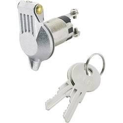 Klíčový spínač TRU COMPONENTS TC-K3-16B-06 1588006, 24 V/DC, 10 A, 1x vyp/zap, 1 x 90 °, 1 ks