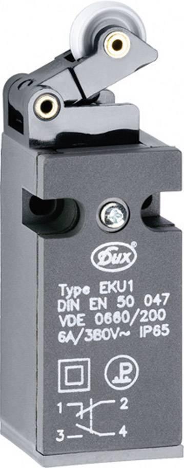 Koncový spínač Schlegel EKU1-KH, 380 V/AC, 6 A, páka s valčekom, bez aretácie, IP65, 1 ks