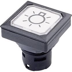 Tlačítko Schlegel OKJT, 23 mm, černá