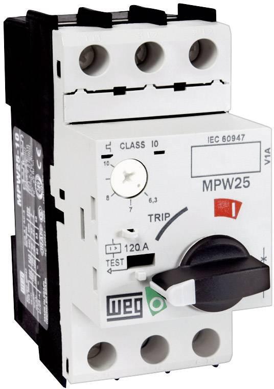Ochranný spínač motoru WEG MPW25-3-C025, 0,16 – 0,25 A