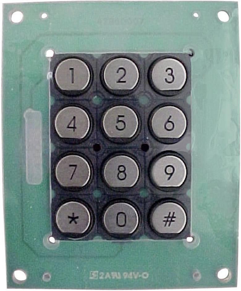 Tlačítková klávesnice 3 x 4 APEM T12PR, 1 ks