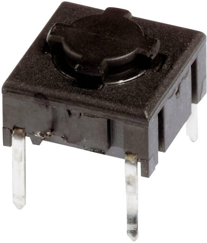 Tlačítko MEC 5ETH935, 24 V/DC, 0,05 A, pájecí piny, 1x vyp/(zap)