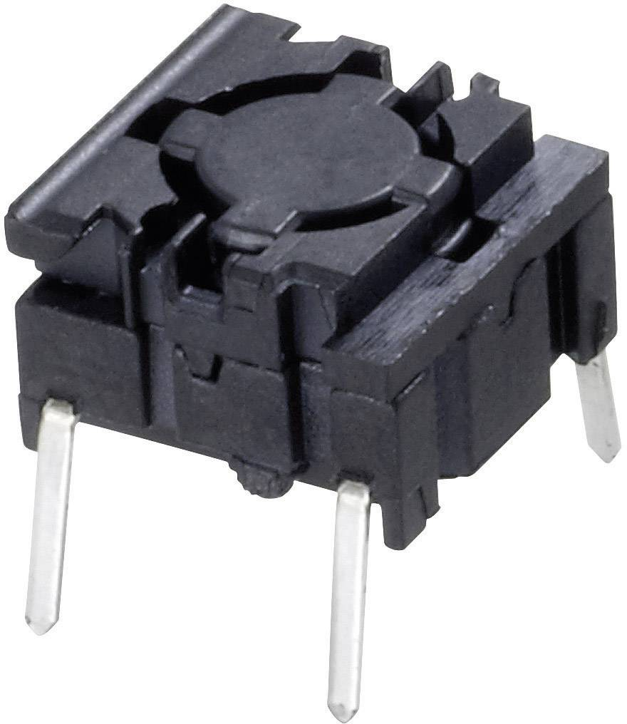 Tlačítko MEC 5GTH935, 24 V/DC, 0,05 A, pájecí piny, 1x vyp/(zap)