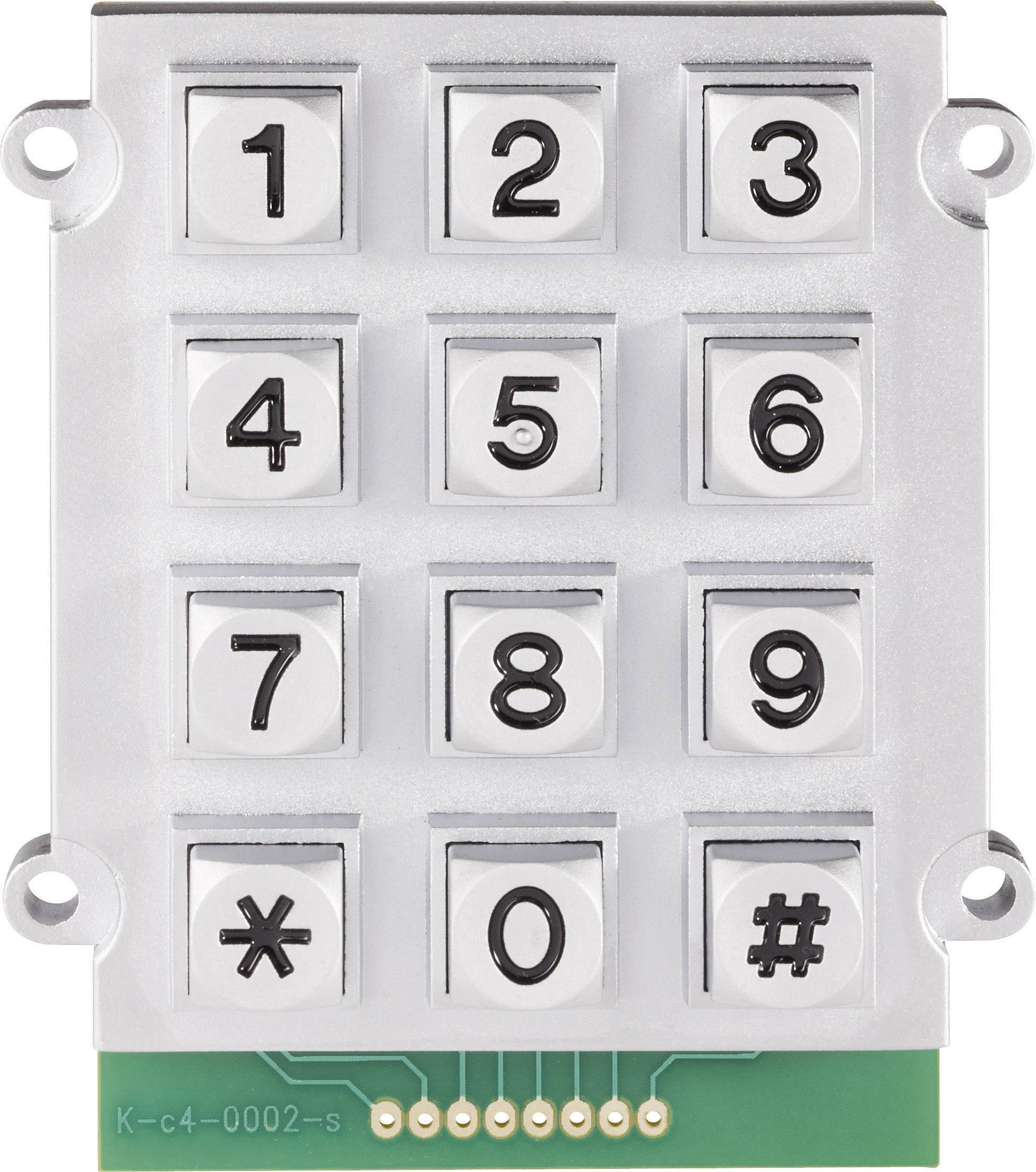 Tlačidlová klávesnica 0031-008B-2F 3 x 4 1 ks