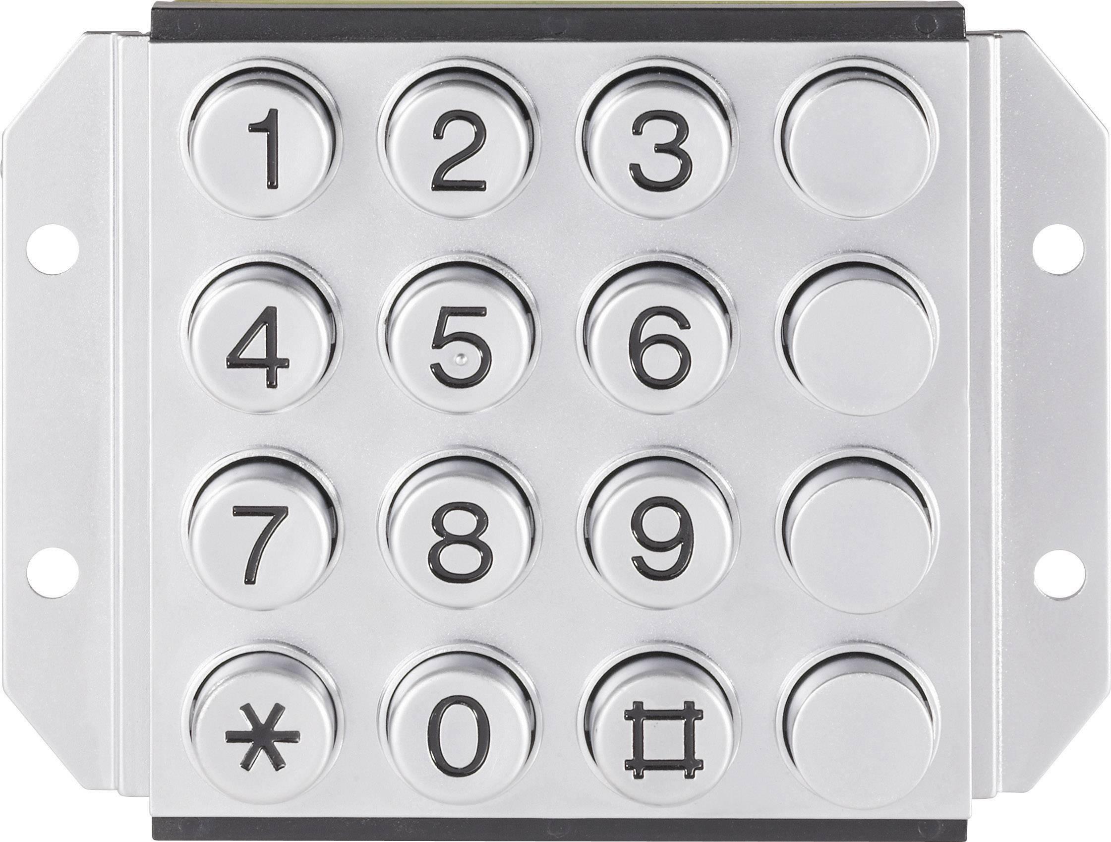 Tlačidlová klávesnica 031-0007-3P 4 x 4 1 ks