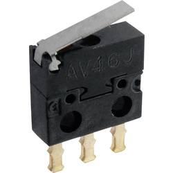Mikrospínač Panasonic AV402461J, 30 V/DC, 0.5 A, IP40