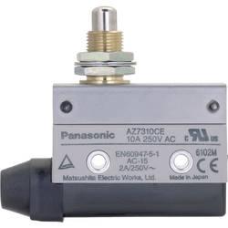 Koncový spínač Panasonic AZ7310CEJ, 115 V/DC, 250 V/AC, 10 A, tŕň so závitom, bez aretácie, IP64, 1 ks