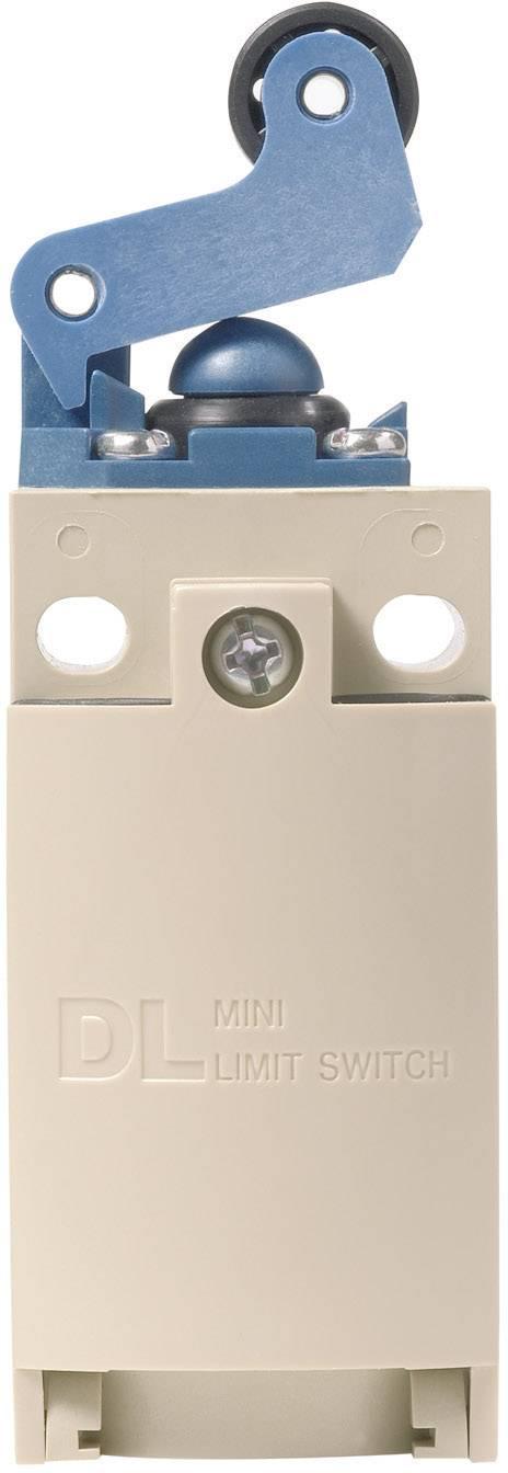 Koncový spínač Panasonic AZD1050CEJ, 220 V/DC, 380 V/AC, 6 A, páka s valčekom, bez aretácie, IP67, 1 ks
