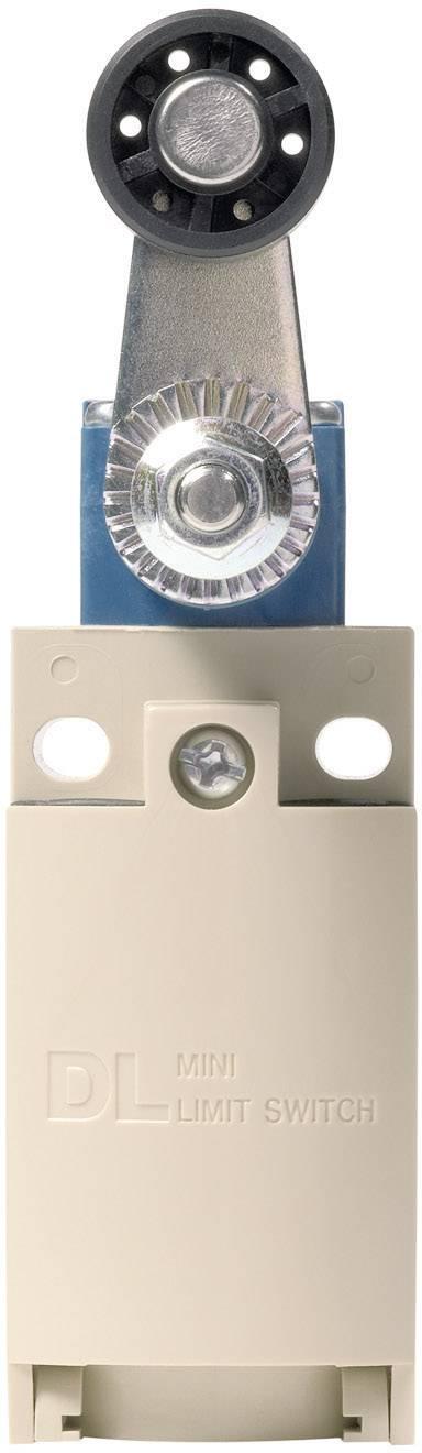 Koncový spínač Panasonic AZD1054CEJ, 220 V/DC, 380 V/AC, 6 A, páka s valčekom, bez aretácie, IP67, 1 ks