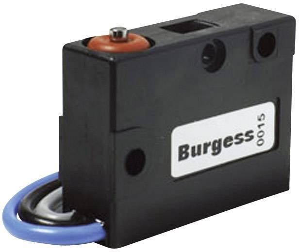 Mikrospínač Burgess V3SYRUL, 250 V/AC, 5 A, kabel bez kon., 1x zap/(zap)