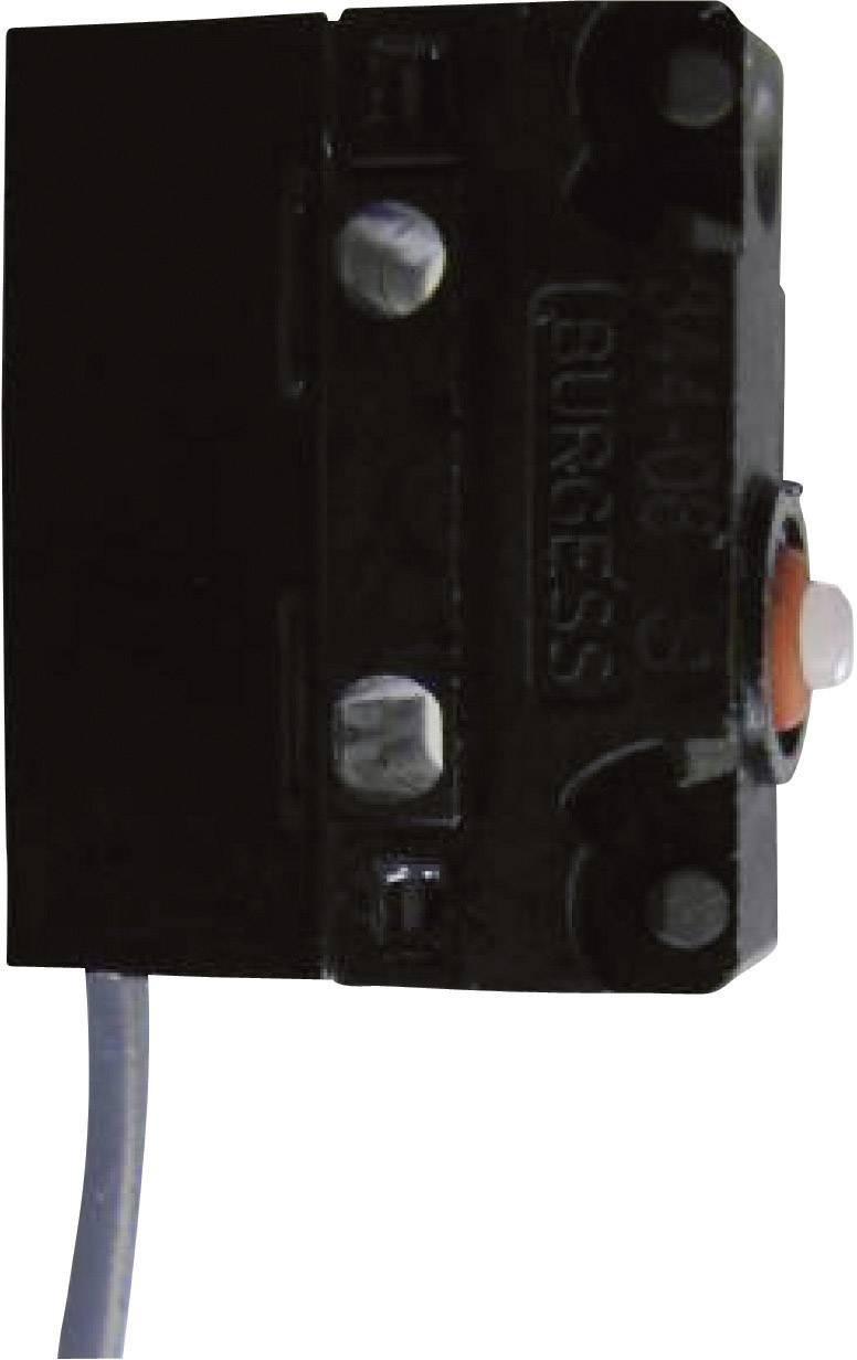 Mikrospínač - rovná kovová páka Saia V4NCS2A3-0,5M, 250 V/AC, 5 A, IP67