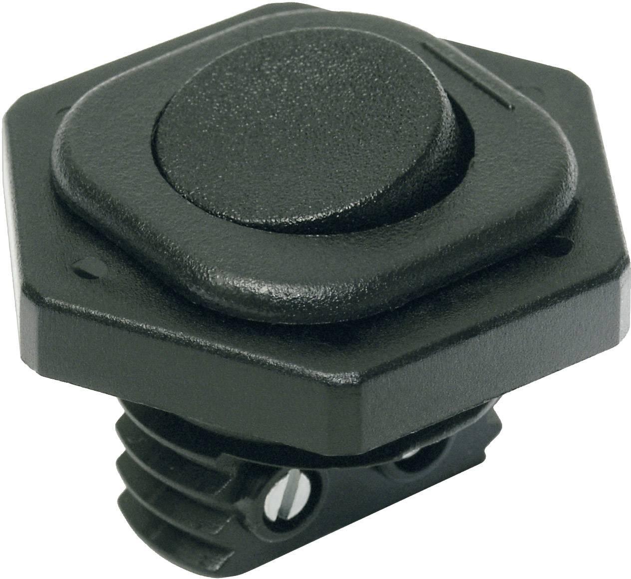 Kolískový spínač s aretáciou interBär 8014-004.01, 250 V/AC, 6 A, 1x vyp/zap, 1 ks