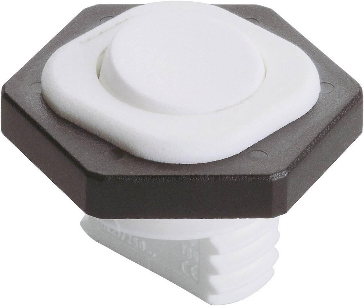 Kolískový spínač s aretáciou interBär 8014-002.01, 250 V/AC, 6 A, 1x vyp/zap, 1 ks