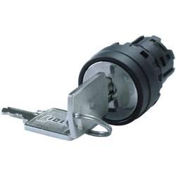 Klíčový spínač Idec IDEC YW Serie (YW1K-32H), 2x 45 °, 22 mm, černá