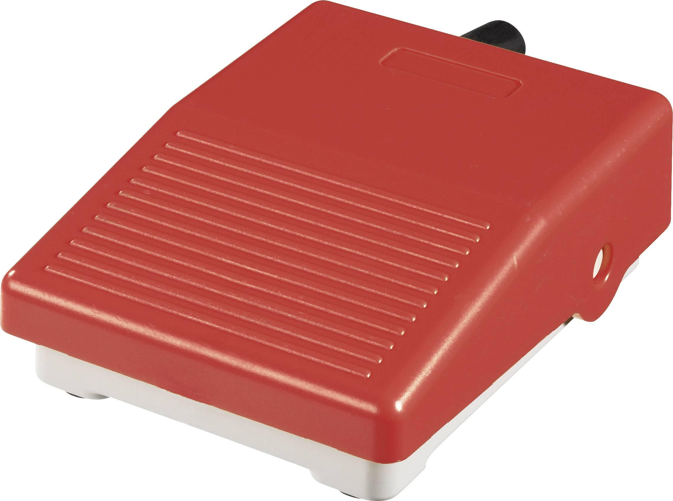 Nožné / ručné tlačidlo ABB IPM2R, 250 V/AC, 3 A, 1 prepínací, 1 pedál , IP40, 1 ks