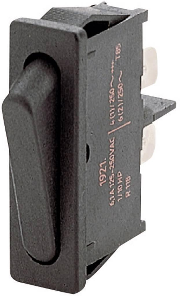 Kolébkový spínač s aretací Marquardt 1901.1101, 250 V/AC, 6 A