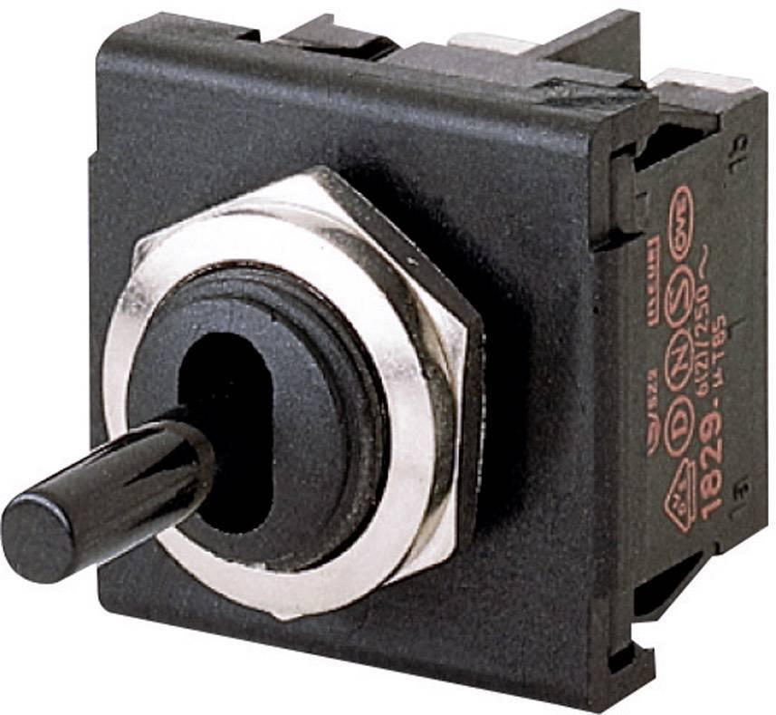 Pákový spínač Marquardt 1822.1101, 250 V/AC, 6 A, IP40, 1 ks