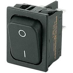 Kolébkový spínač s aretací Marquardt 1832.3311, 250 V/AC, 20 A, 2x vyp/zap, IP40, 1 ks