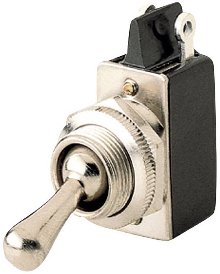Páčkový přepínač Marquardt 0100.2901, 250 V/AC, 2 A, 1x vyp/zap, 1 ks