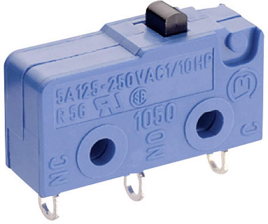 Mikrospínač Marquardt 1050.2102, 250 V/AC, 5 A