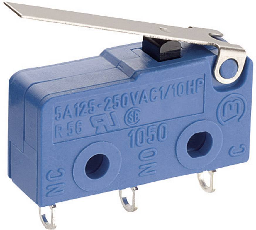 Mikrospínač Marquardt 1050.5202, 250 V/AC, 5 A