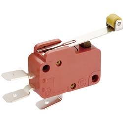 Mikrospínač MARQUARDT série 1005, 10 A, 6,3 mm, s kuličou