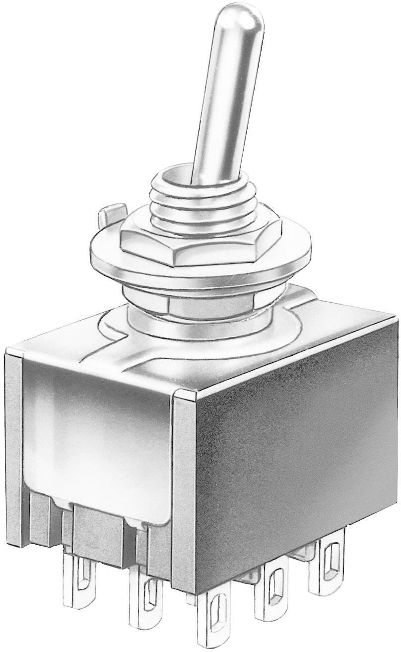 Miniatúrny pákový spínač Marquardt 9040.0301, 30 V/DC, 4 A, 1 ks