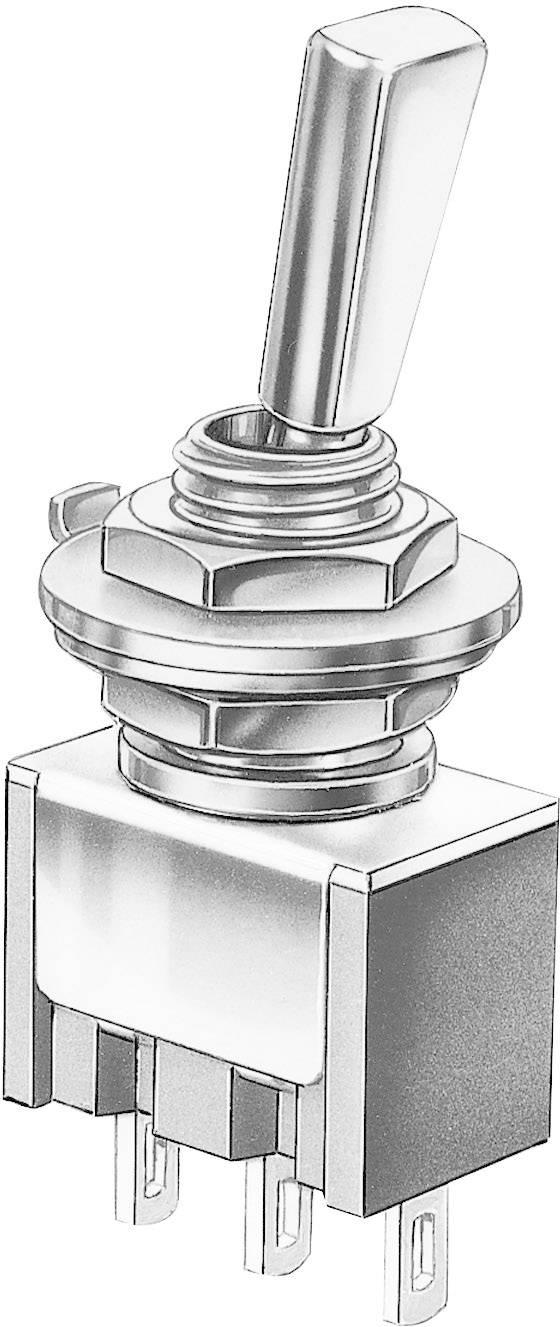 Miniatúrny pákový spínač Marquardt 9040.2101, 30 V/DC, 4 A, 1 ks