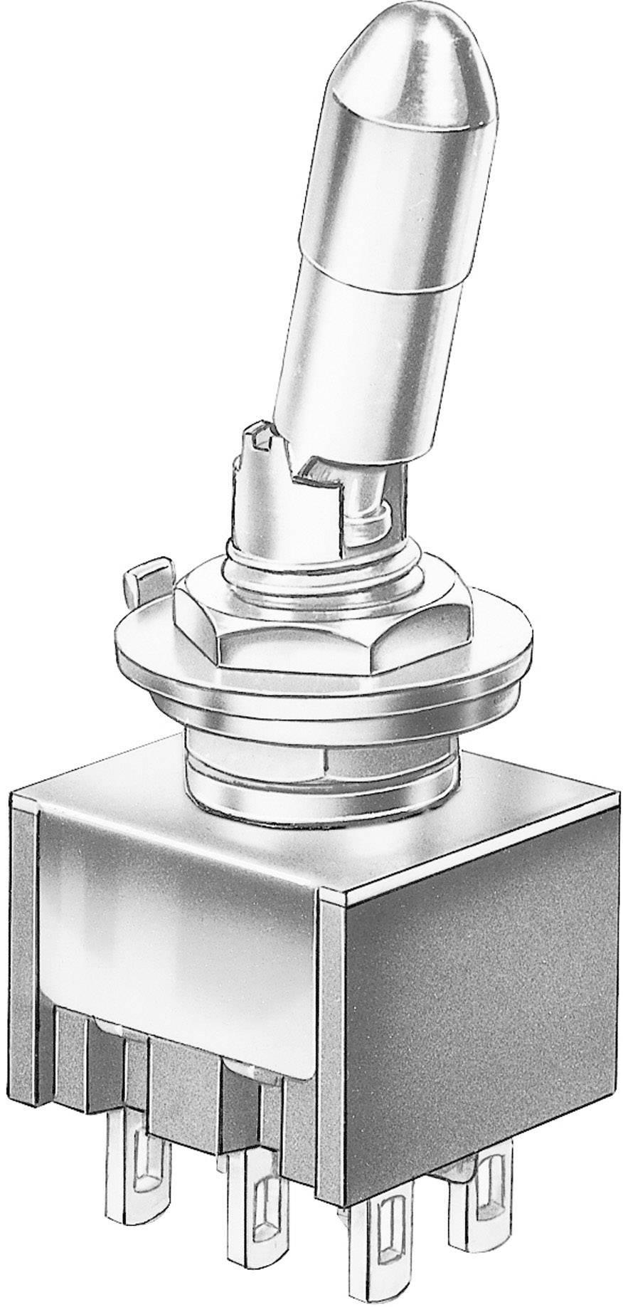 Miniatúrny pákový spínač Marquardt 9047.0202, 30 V/DC, 4 A, 1 ks