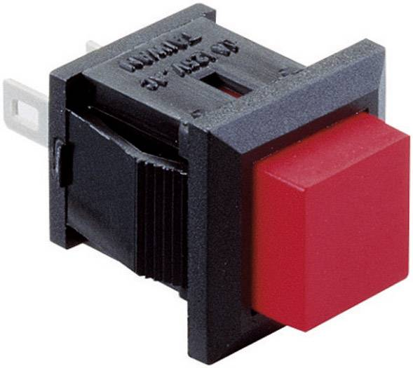 Tlačidlový spínač SED3GI-3-H, 125 V/AC, 3 A, červená, 1 ks