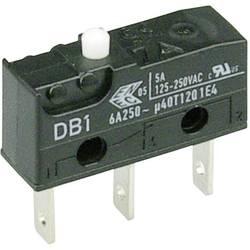 Mikrospínač Cherry Sw. DB1C-B1AA, 250 V/AC, 6 A, 1x zap/(zap)