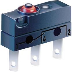 Mikrospínač ZF DC3C-L1AA, 250 V/AC, 0.1 A