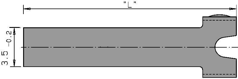 Přídavný ovladač Cherry Switches 6141234, rovná kovová páka, 1 ks
