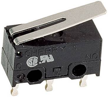 Mikrospínač Cherry Switches DG13-B1LA, 125 V/AC, 3 A