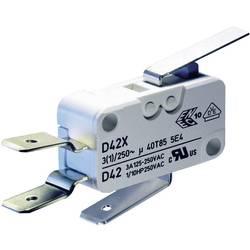 Mikrospínač ZF D459-V3LD, 250 V/AC, 16 A