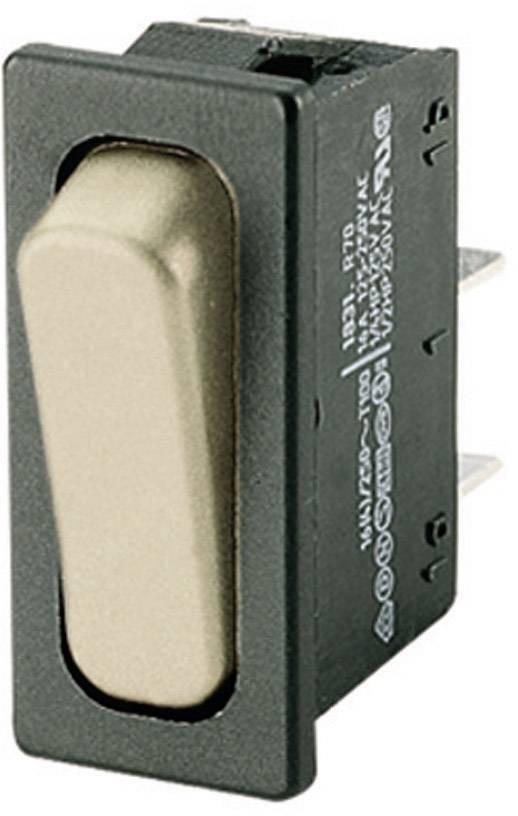 Kolískový spínač s aretáciou Marquardt 1831.3311, 250 V/AC, 20 A, 1x vyp/zap, IP40, 1 ks