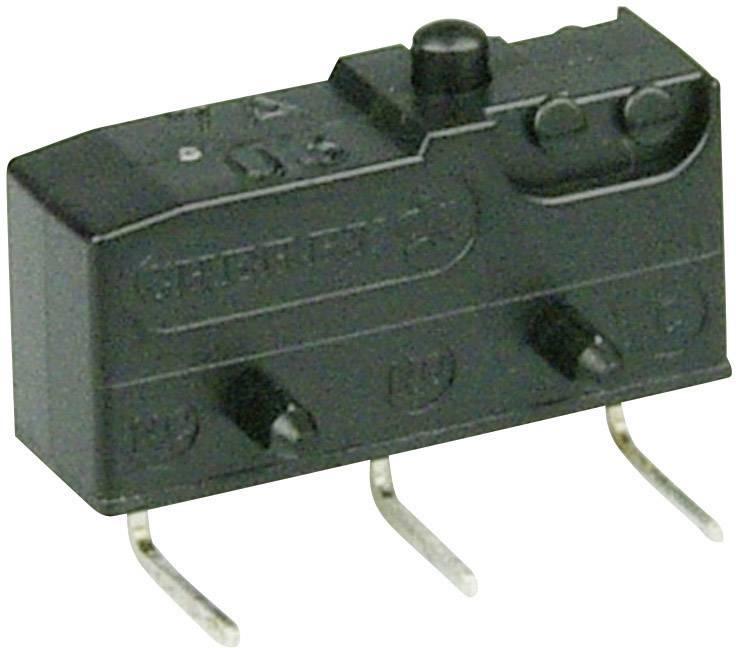 Mikrospínač - tŕň Cherry Switches DB2C-D3AA, 250 V/AC, 10 A