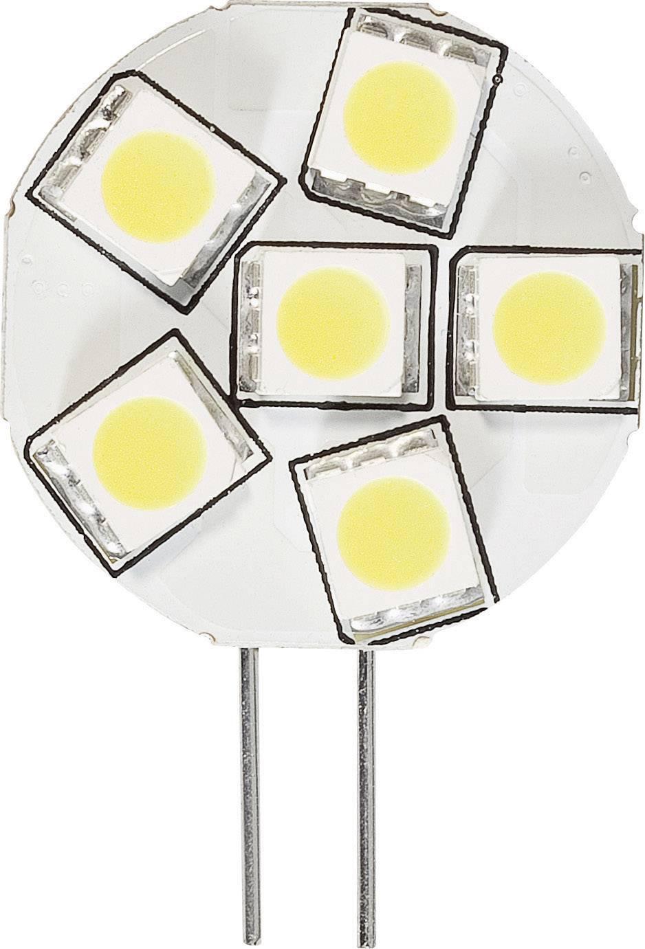 LED žiarovka DioDor DIO-LED6MG4L 30 V, 1.3 W = 20 W, teplá biela, A+, stmievateľná, 1 ks