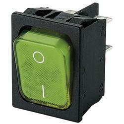 Kolébkový přepínač Marquardt 1835.3118, 250 V/AC, 20 A, 2x on/off