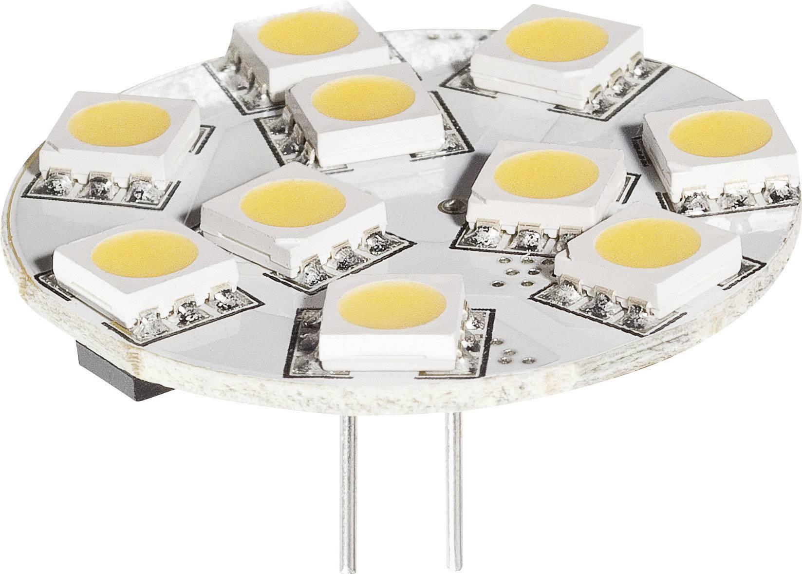 LED žiarovka DioDor DIO-LED10MZ4L 30 V, 2.5 W, teplá biela, A+, stmievateľná, 1 ks