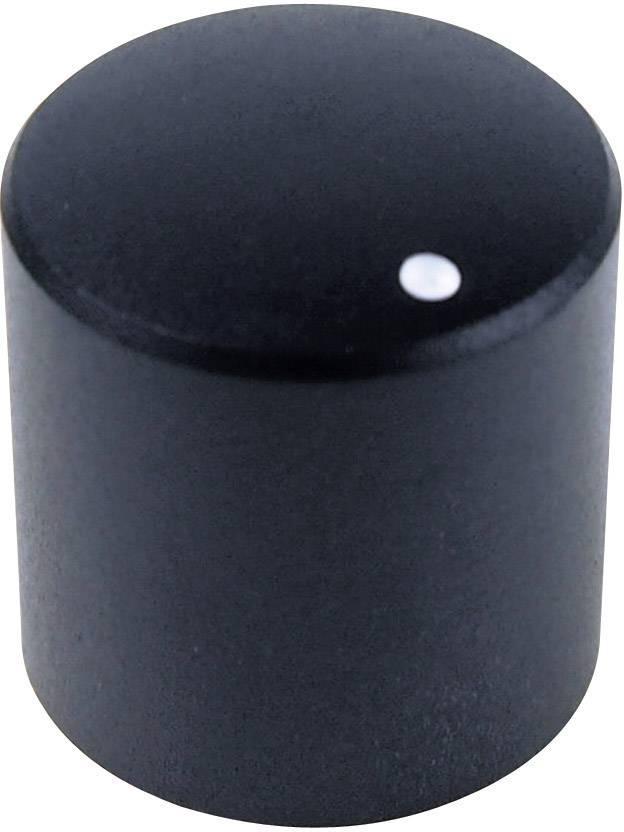 Otočný knoflík Cliff FC7230, pro sérii KMR, 6 mm, s drážkováním, černá