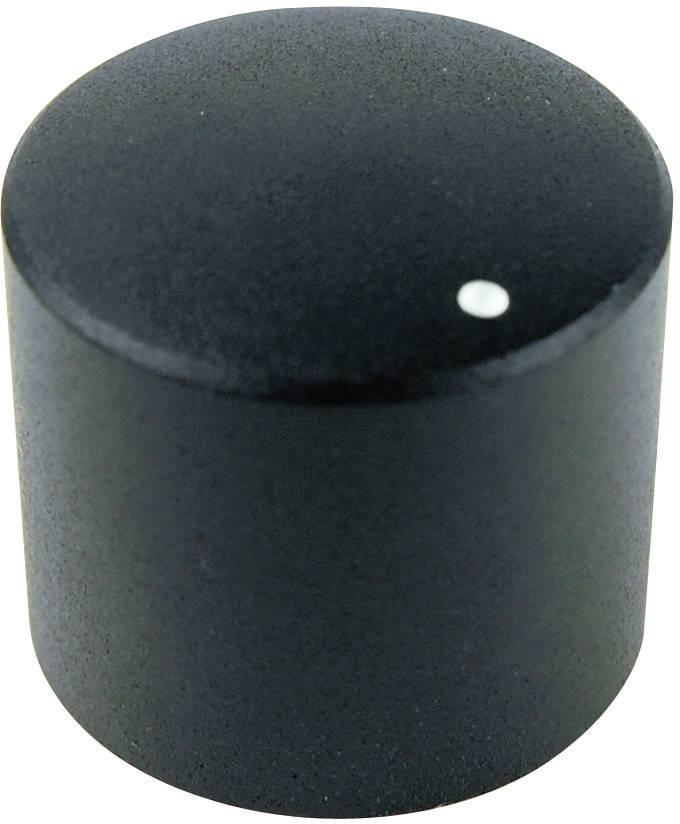 Otočný gombík Cliff FC7231, (Ø x v) 19.8 mm x 17.6 mm, čierna, 1 ks