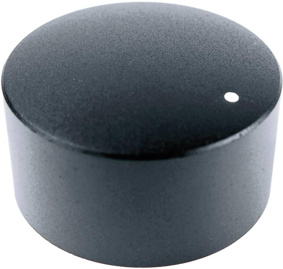 Otočný knoflík Cliff FC7234, pro sérii KMR, 6 mm, s drážkováním, černá