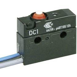 Mikrospínač Cherry Sw. DC1C-C3AA, 250 V/AC, 6 A, 1x zap/(zap)